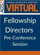 Fellowship Directors Pre-Conference Session