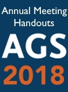 2018 AGS Annual Scientific Meeting Slides