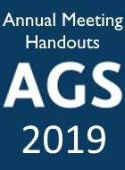 2019 AGS Annual Scientific Meeting Slides