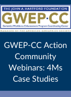 GWEP-CC Action Community Webinars: 4Ms Case Studies