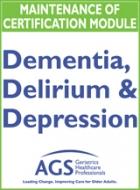 Mini-MOC: Delirium, Dementia, Depression