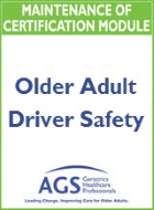 Older Adult Driver Safety MOC Module