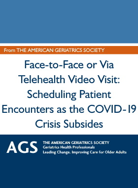 Face-To-Face or Via Telehealth Video Visit: Scheduling Patient Encounters As COVID-19 Crisis Subsides