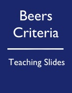 How to Use the AGS 2016 Beers Criteria