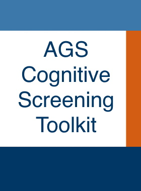 AGS Cognitive Screening Toolkit