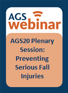 AGS20 Plenary Session: Preventing Serious Fall Injuries: Primary Findings from the STRIDE Study