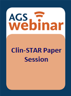 AGS20 Clinician Scientists Transdisciplinary Aging Research (Clin-STAR) Paper Session