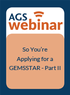 So You're Applying for a GEMSSTAR – Part II