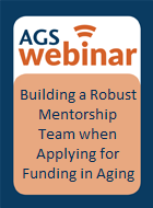 Building a Robust Mentorship Team when Applying for Funding in Aging