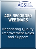 Negotiating Quality Improvement Roles and Support
